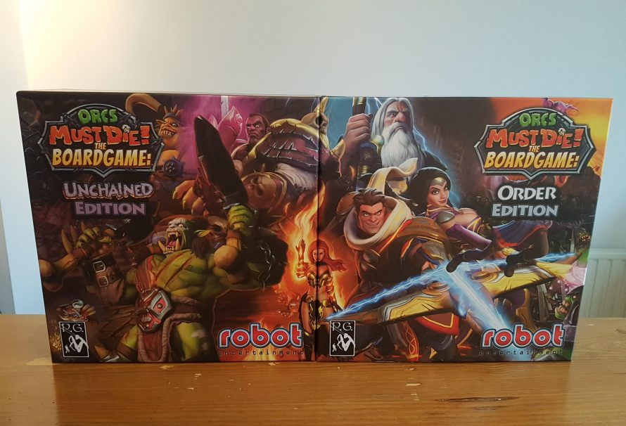 Orcs Must Die! The Board Game: Order & Unchained Editions Review – Tower Defence Epicness