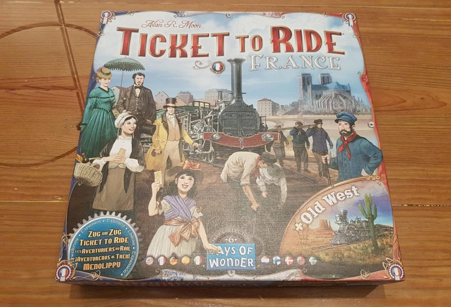 Ticket To Ride France Review – Maps of Wonders
