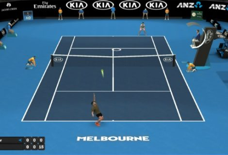 AO Tennis Mobile Video Game Is Available Now To Download