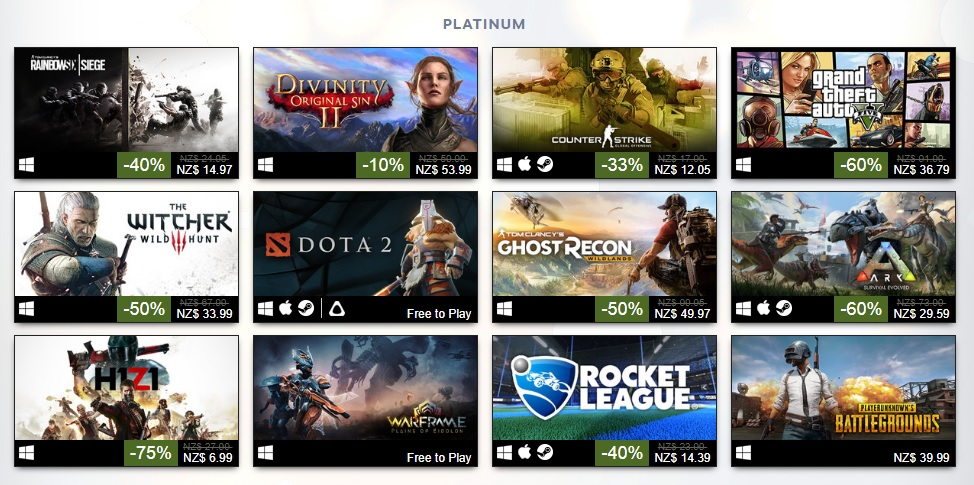 best selling pc game 2018