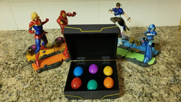 New Infinity Stone Replicas Look Better Than Marvel vs Capcom: Infinite's 'Easter Eggs'