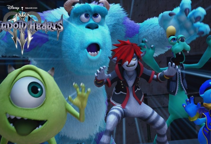 Kingdom Hearts III has a Monsters Inc