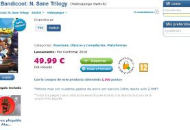Rumor: Spanish Retailer Lists Crash Bandicoot N. Sane Trilogy For Nintendo Switch