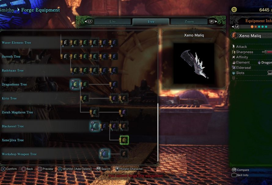 Monster Hunter: World – Weapon Stat Guide