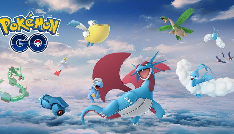 Some New Pokemon Are Flying Into Pokemon Go Very Soon