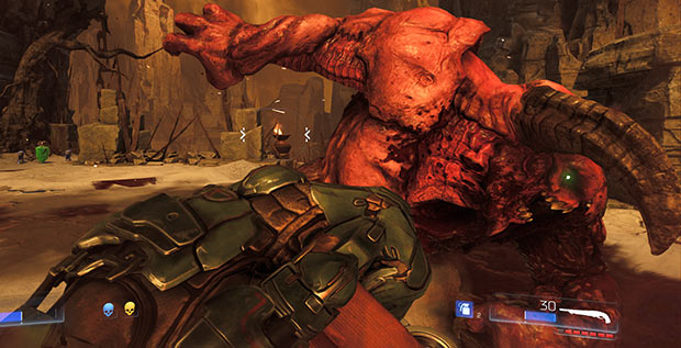 DOOM now supports 4K for Xbox One X and PS4 Pro - Just Push Start