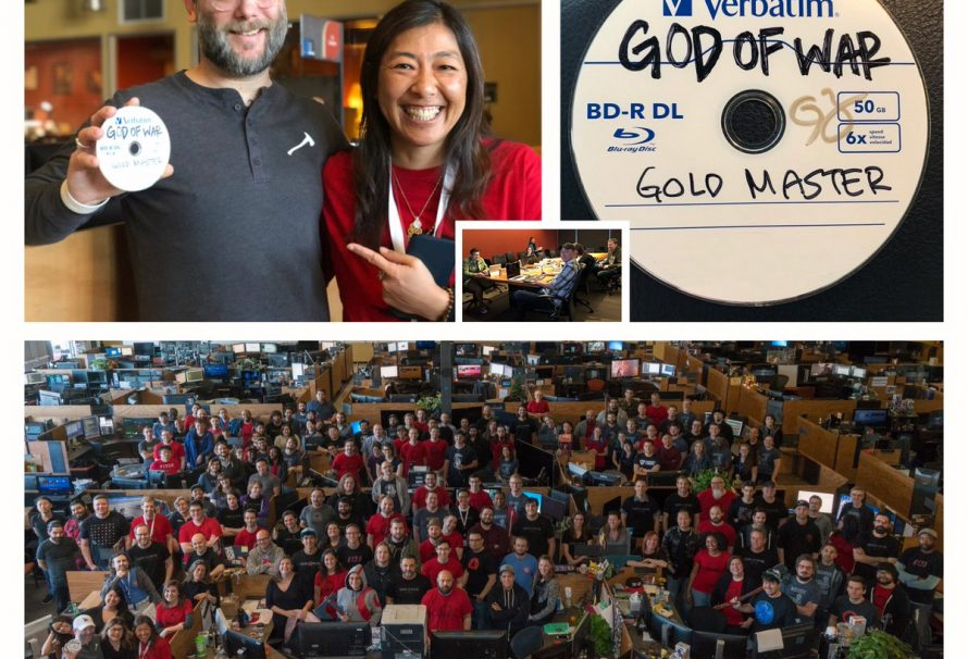 God of War PS4 Has Officially Gone Gold; Release Date Should Be Final