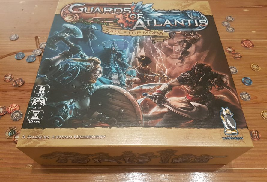 Guards of Atlantis: Tabletop MOBA Review