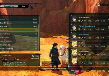 Ni no Kuni 2 Guide - How to access the Special Swords Set DLC