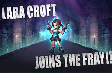 Lara Croft To Be An Added Playable Character In Final Fantasy Brave Exvius