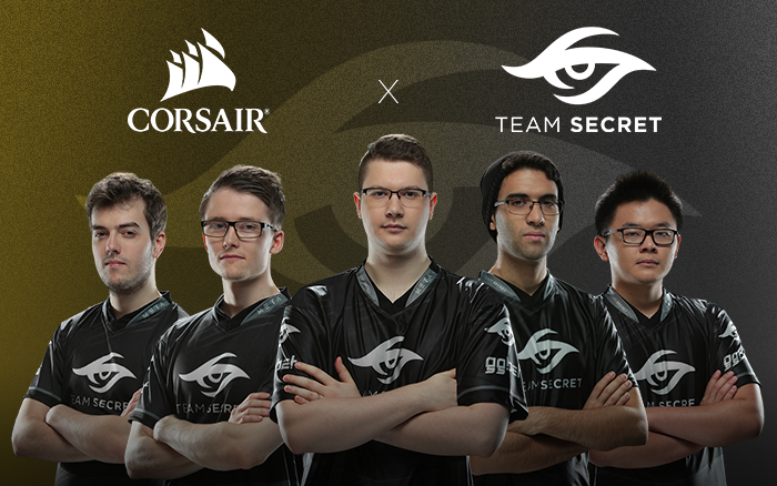 Corsair & Dota 2's Team Secret Announce 2018 Partnership