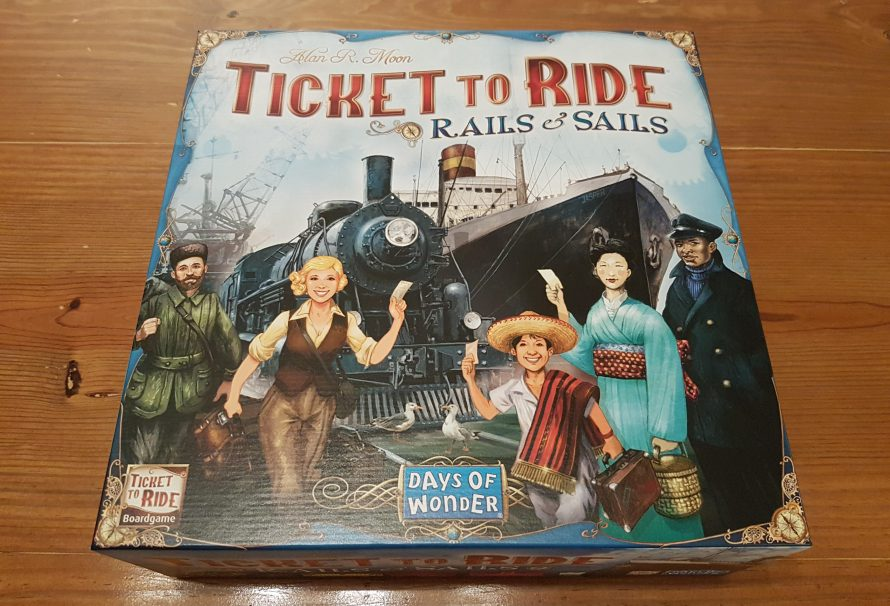 Ticket to Ride: Rails & Sails Review – A Global Experience