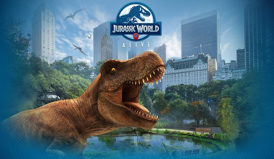 Jurassic World Is Getting Its Own Pokemon Go Type Video Game