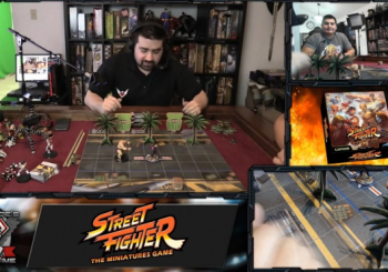 Angry Joe Reveals A Street Fighter Board Game