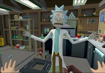 The ESRB Details Info For The PSVR Version Of Rick & Morty Virtual Rick-Ality
