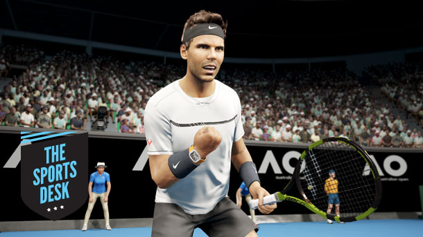 Big Ant Studios Changes The Physics Of AO Tennis To Make It A Simulation