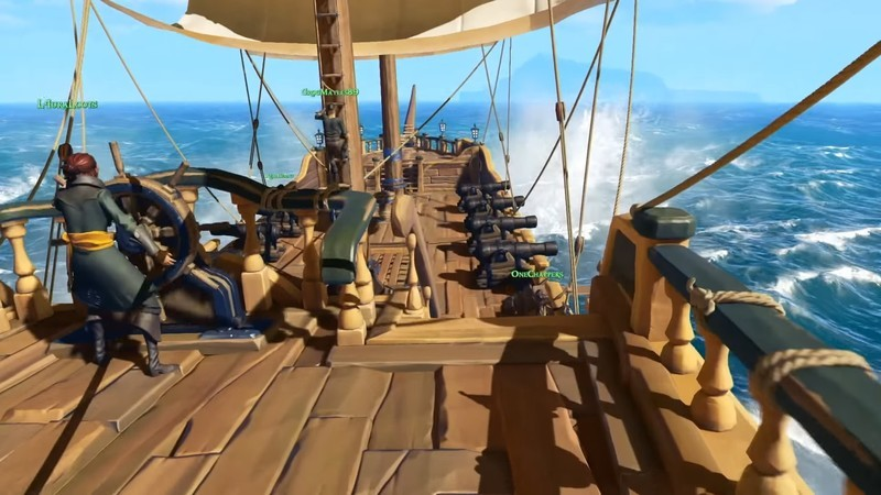 Rare Releases Patch Notes For Update 1.0.1 For Sea of Thieves