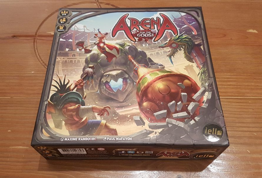 Arena For The Gods! Review – Godly Battles