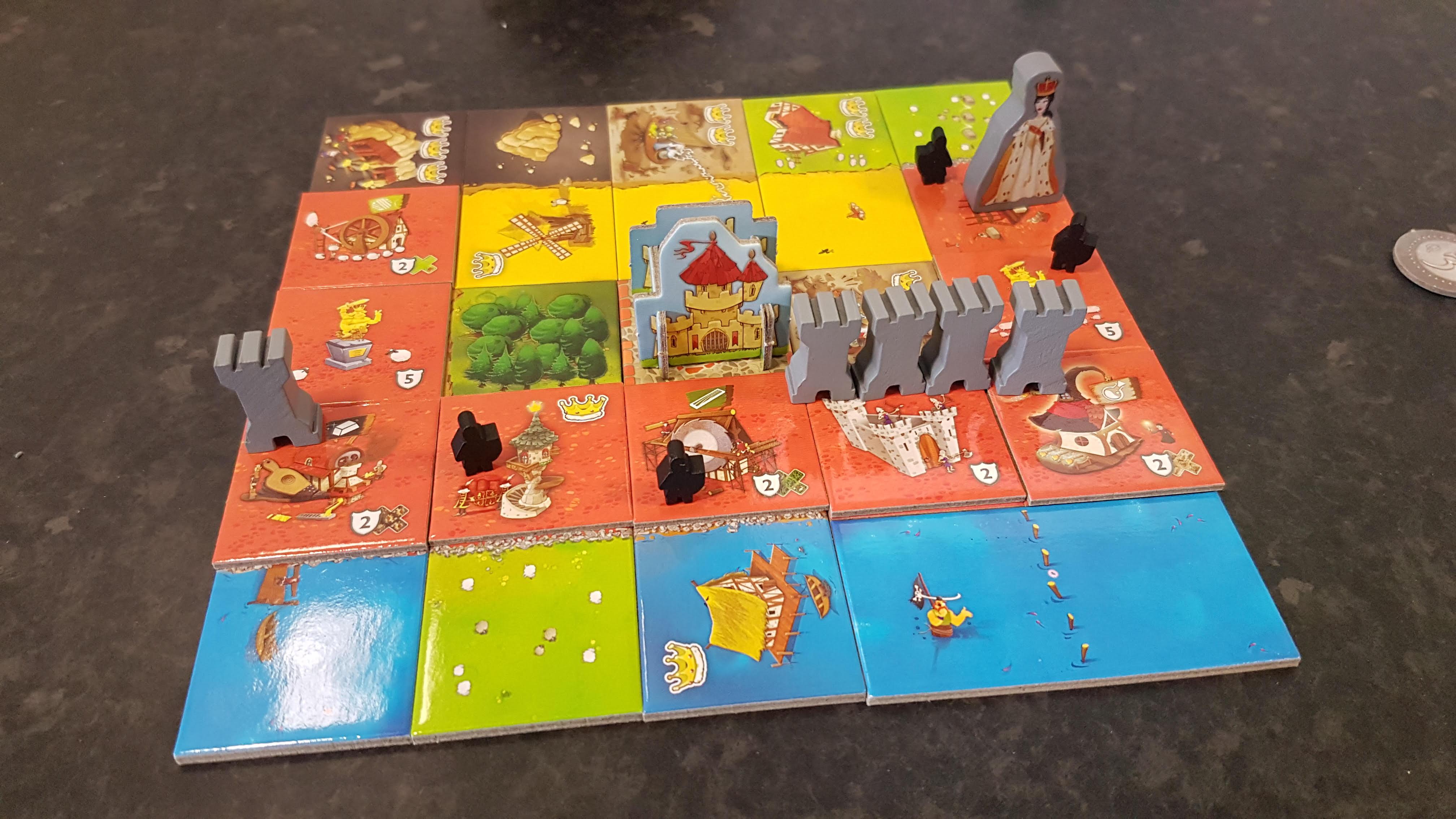 Queendomino Spiel Spiele