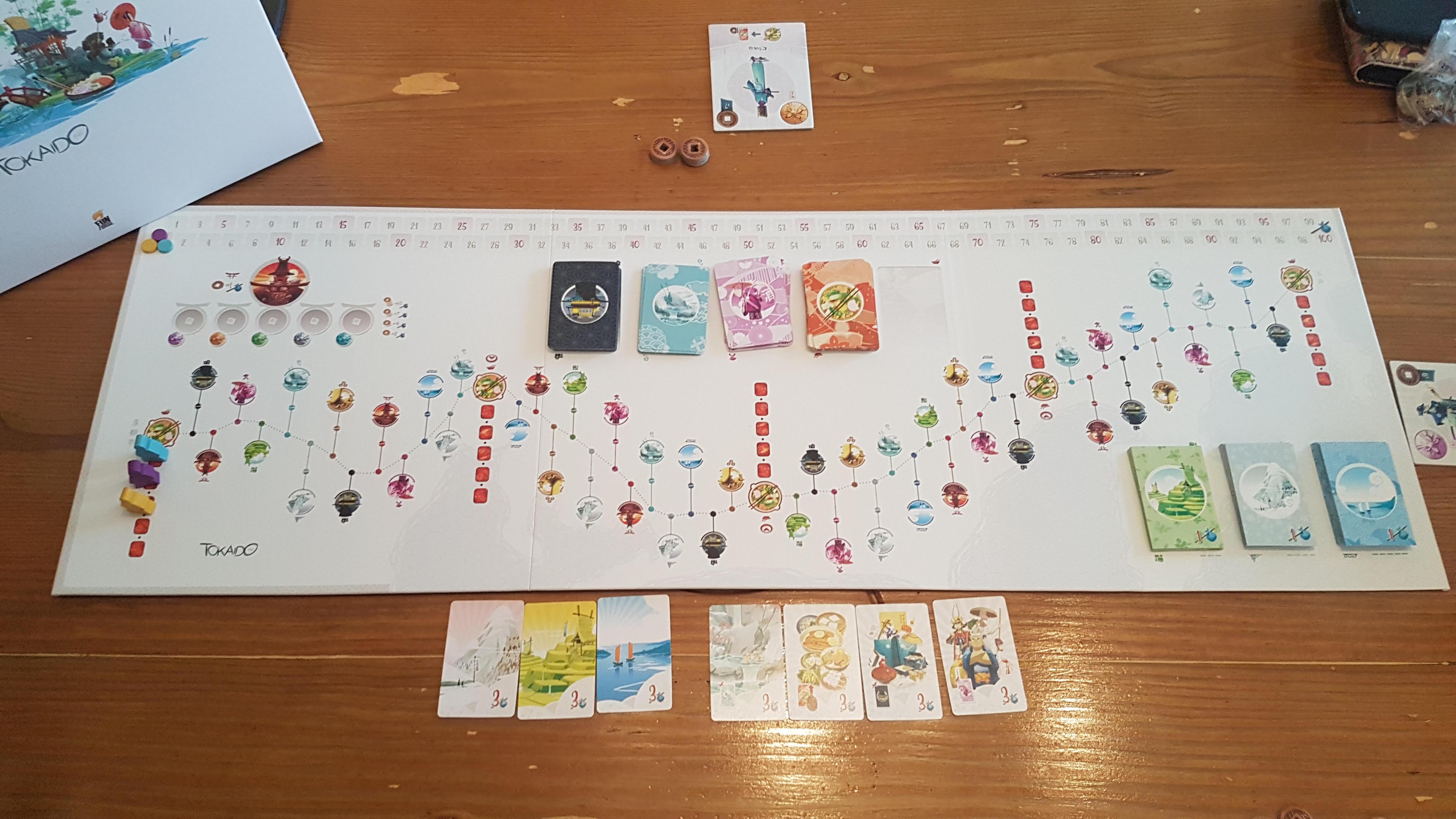 Asmodee Tokaido Board Game
