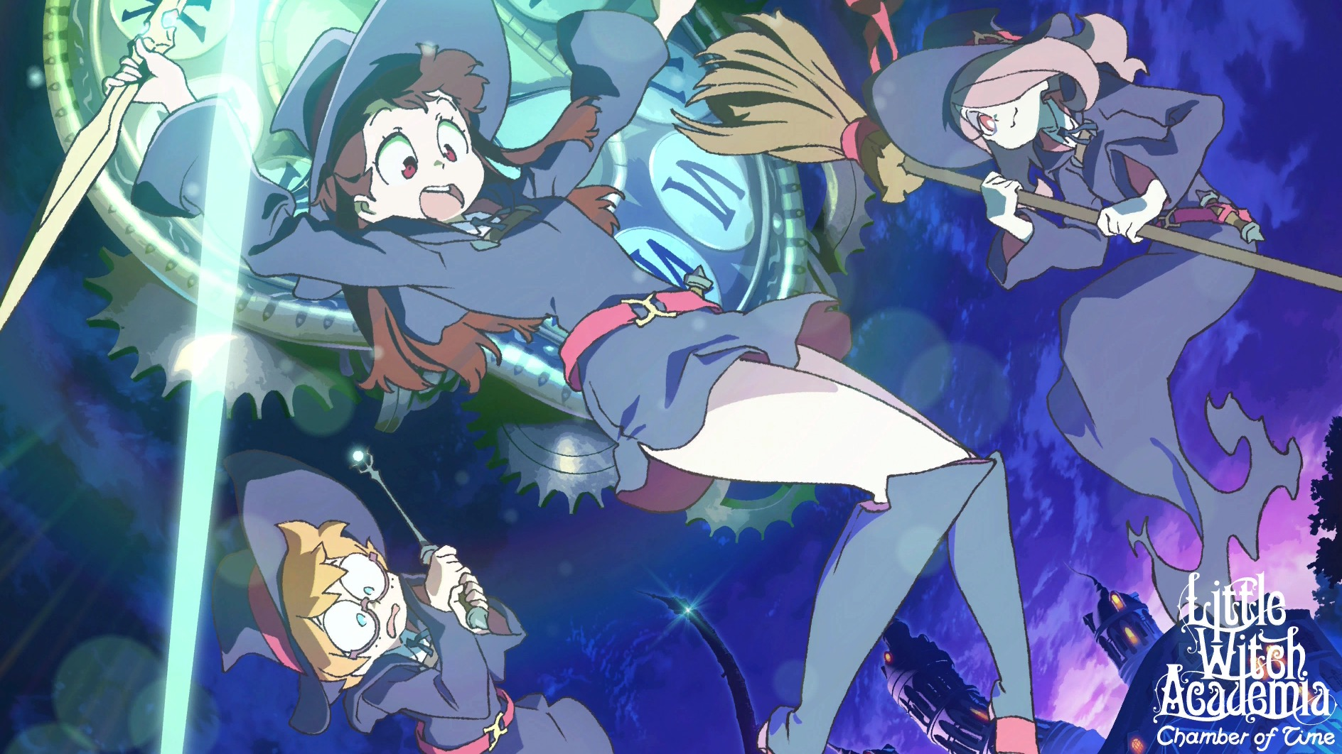 Little Witch Academia Chamber Of Time Review Just Push Start