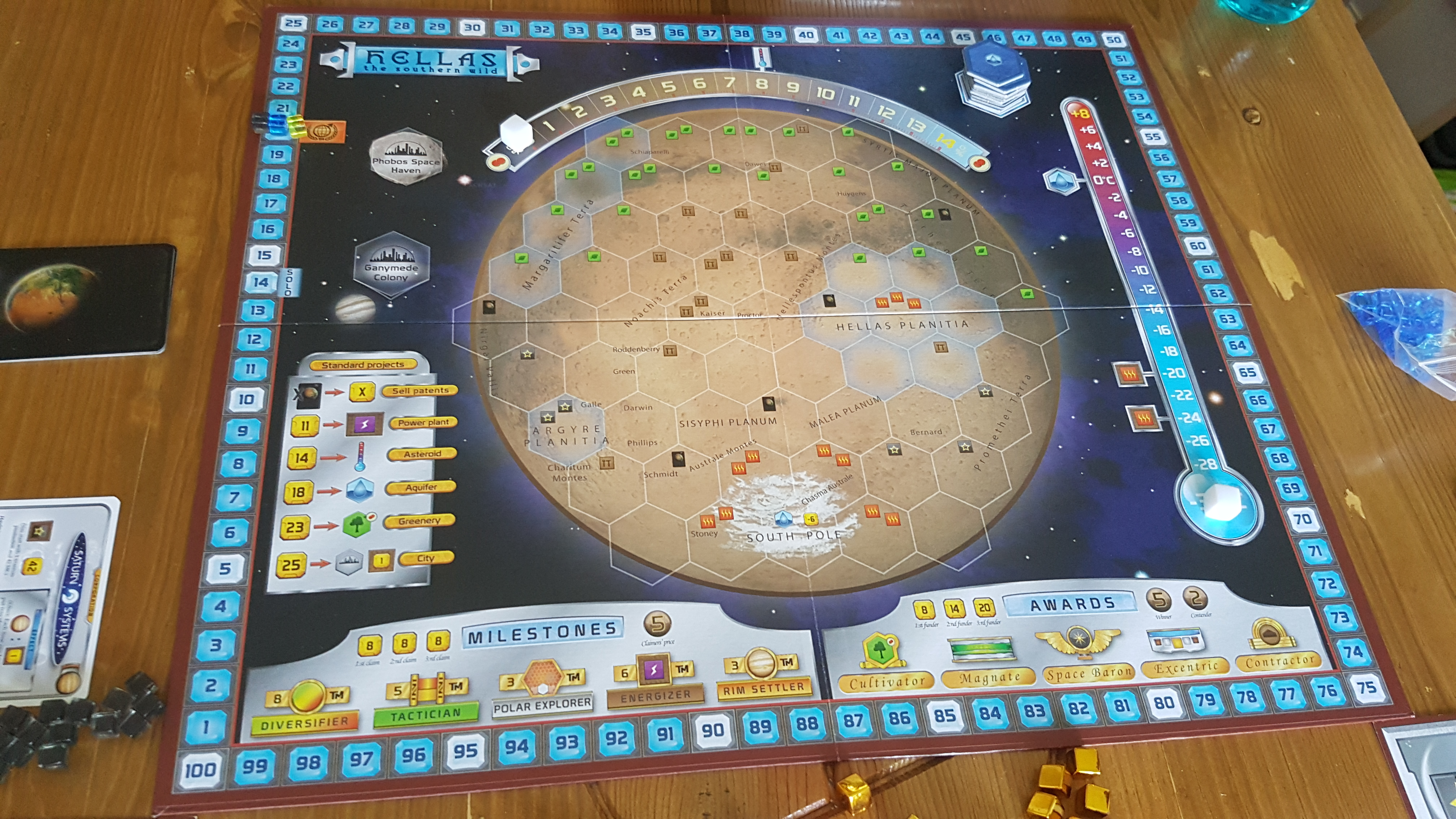 Terraforming Mars: as & Elysium Review - More Martian ... on borealis basin on mars, detailed map of mars, map of a trip to mars, political map of mars, map of mars space, map of mars land, modern map of mars, map of mars with water, terraforming of mars,