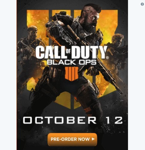 The Box Art Cover For Call of Duty: Black Ops 4 Has Been Leaked