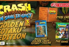 EB Games Australia Announces Exclusive Crash Bandicoot: N-Sane Trilogy Golden Totaku Edition