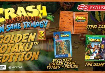 EB Games Australia Announces Exclusive Crash Bandicoot: N-Sane Trilogy Golden Totaku Edition