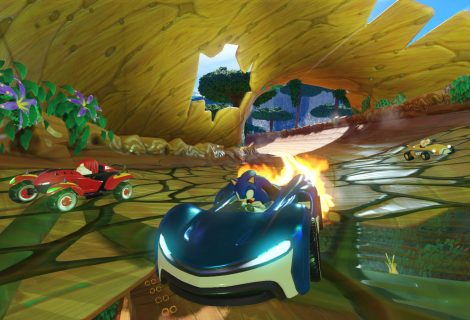 Sega Unleashes Team Sonic Racing To The Race Track