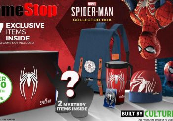 Gamestop Exclusive Spider-Man PS4 Collector's Box Announced