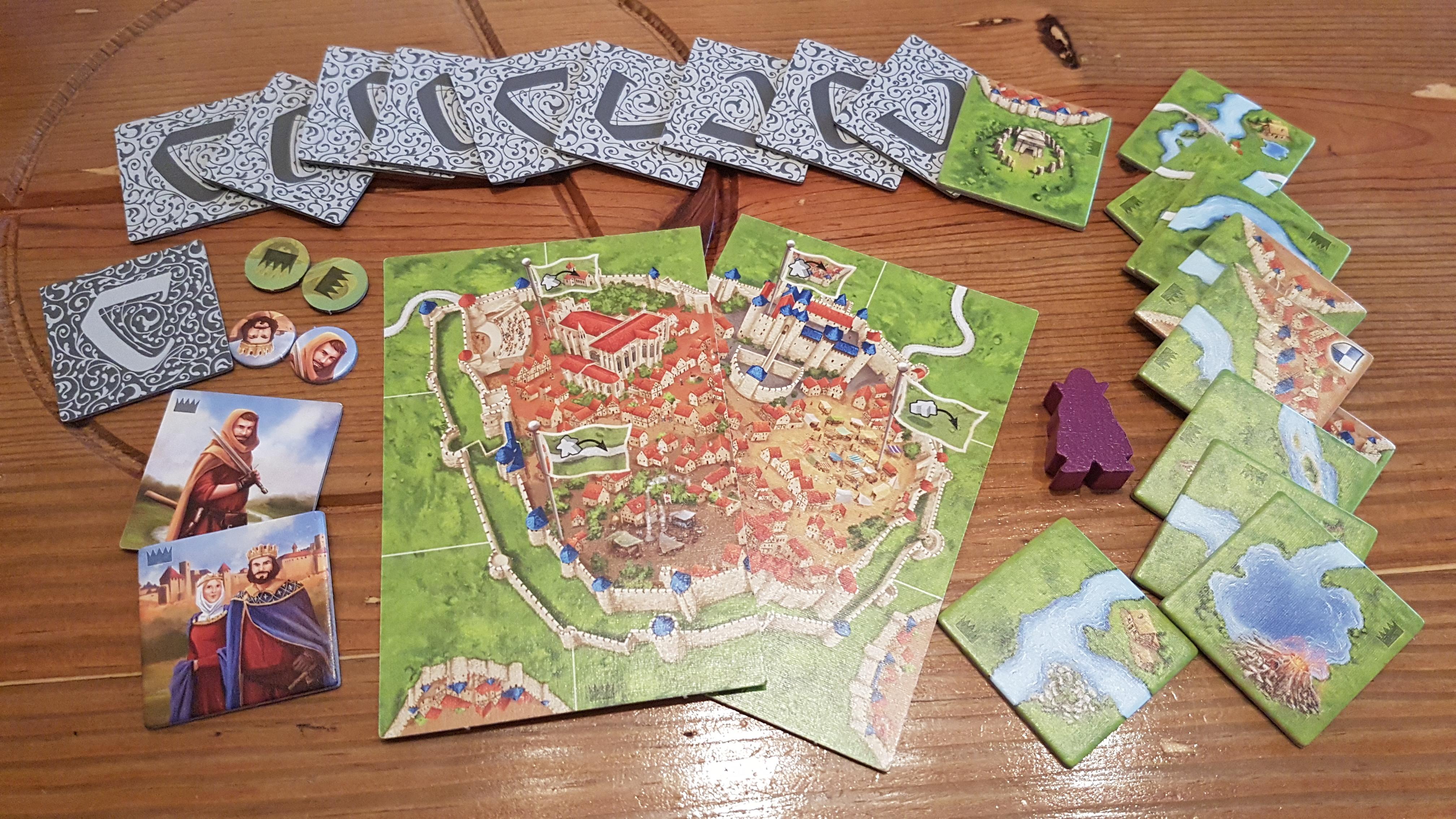 Carcassonne Start Pièce