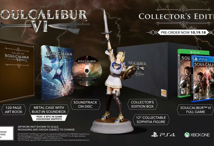 E3 2018: Bandai Namco Announces Release Date And Collector's Edition For Soulcalibur VI