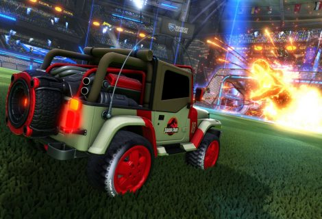 Jurassic World DLC Is Now Chomping Into Rocket League