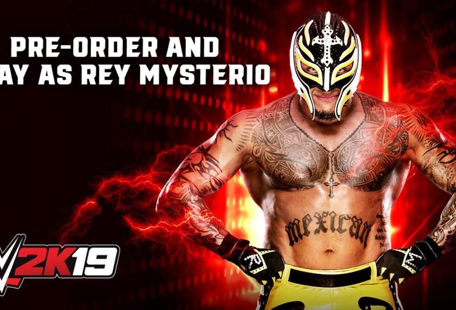 Rey Mysterio Confirmed For The WWE 2K19 Roster - Just Push Start