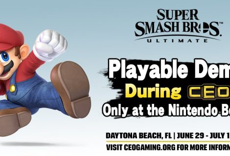 Super Smash Bros. Ultimate Has A Playable Demo At CEO 2018