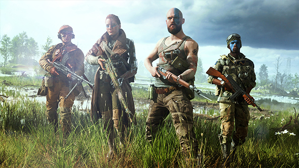 See The Battlefield V Multiplayer Trailer, Battle Royale Coming Post-Launch class=