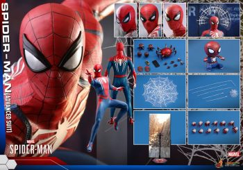 Hot Toys Reveals Photos For Spider-Man PS4 Figurine