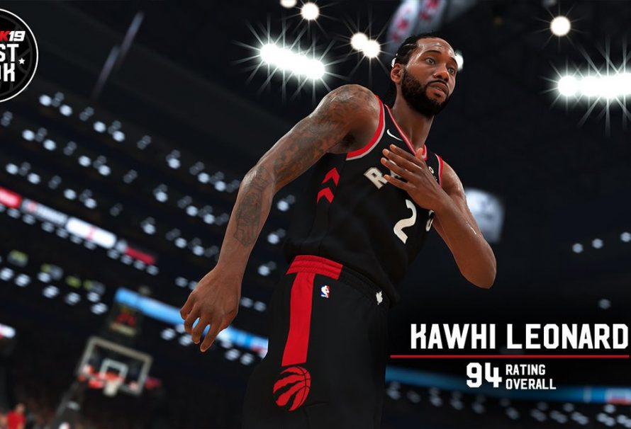 fe2518ea735e NBA 2K19 Player Ratings Revealed For Kawhi Leonard