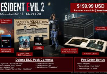 Gamestop Reveals Resident Evil 2 Remake Collector's Edition