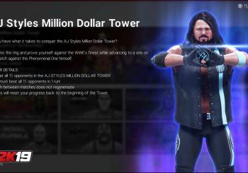 WWE 2K19 Introduces New Towers Mode Like Mortal Kombat