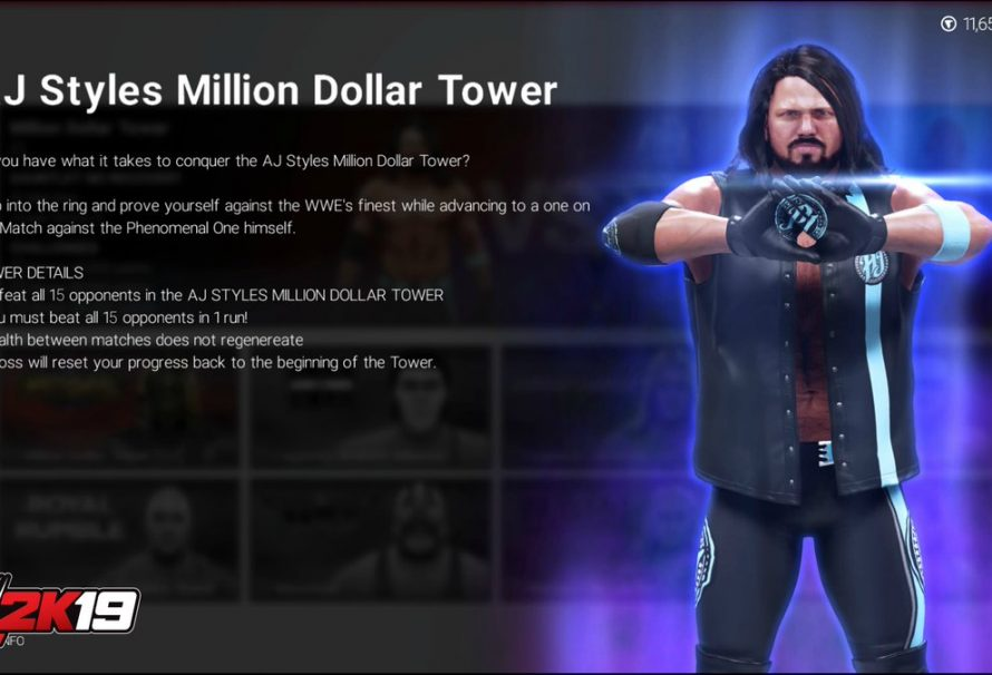 WWE 2K19 Introduces New Towers Mode Like Mortal Kombat