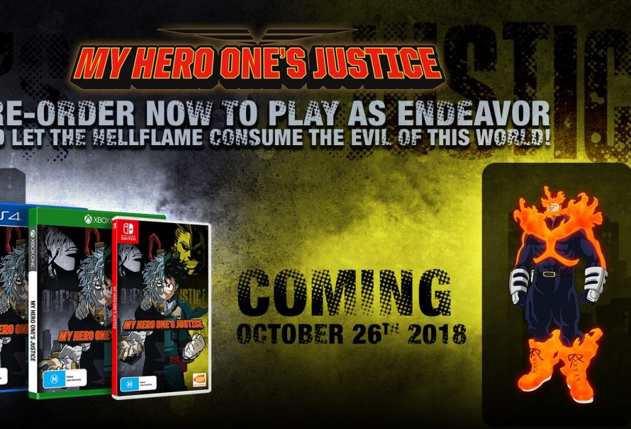 My Hero One's Justice Gets A Release Date