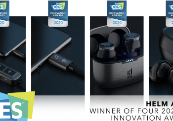 HELM Audio Receives Four CES Awards; Is the Most Awarded Headphone Brand for 2020 Selection