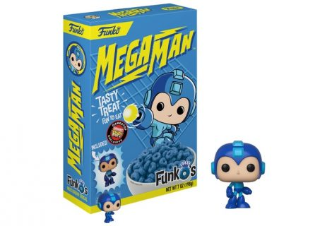 Funko Set To Release Cereal Based On Mega Man And Cuphead