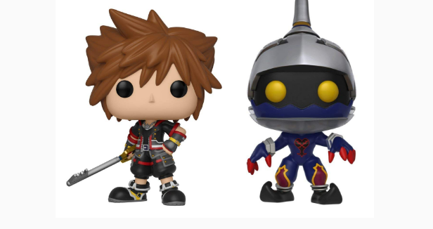 Kingdom Hearts 3 Funko Pop Figures Revealed - Just Push Start