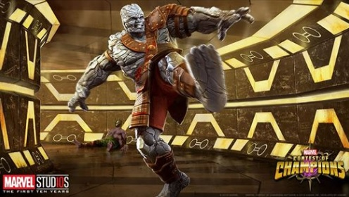 Thor: Ragnarok's Korg Gets Added To Marvel: Contest Of Champions Game