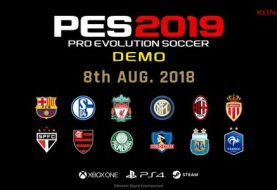 Konami Announces Official Release Date For PES 2019 Demo