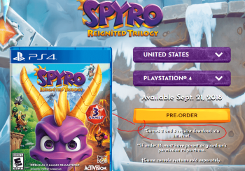 Spyro Reignited Trilogy Requires You To Download Spyro 2 And Spyro 3
