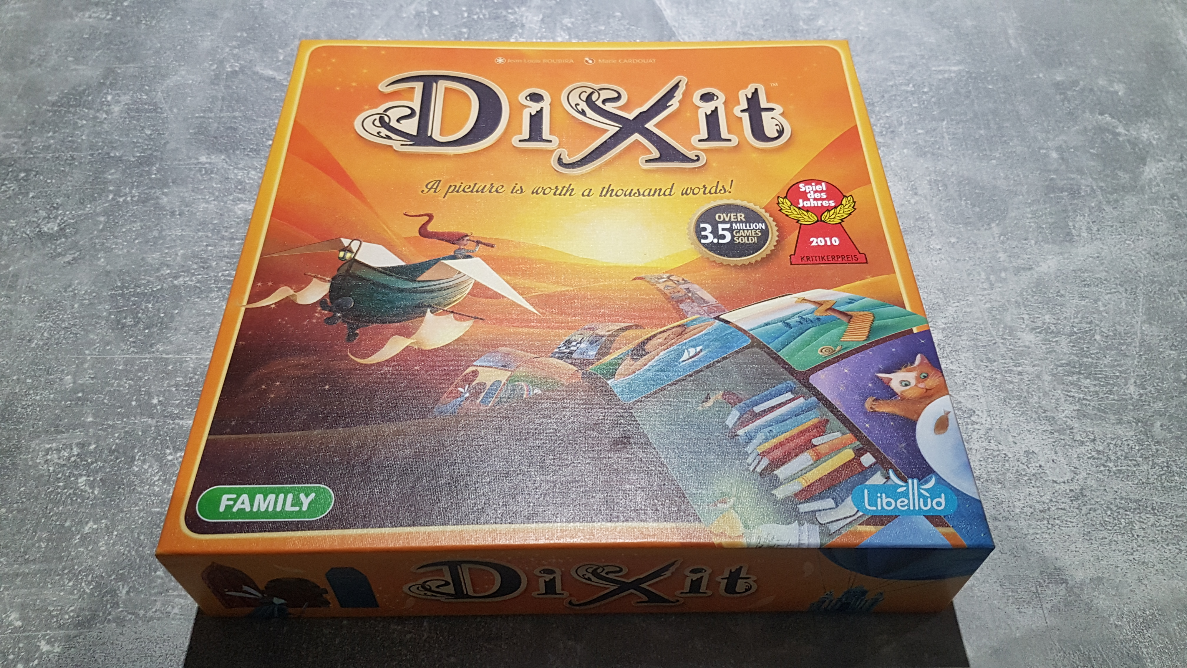 Dixit Review - Simple Fun With Incredible Art - Just Push Start image